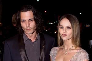 Johnny Depp y Vanesa Paradis