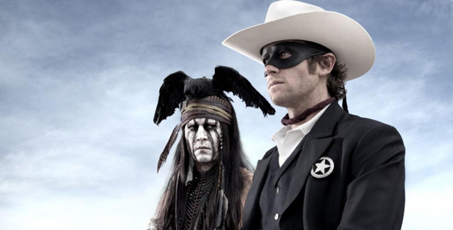 Johnny Depp y Armie Hammer en la primera imagen promocional de El llanero solitario.